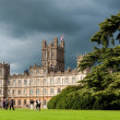 Highclere castle — Stock Photo