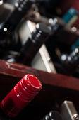 Bottles of wine — Stock Photo