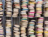 Colorful espadrilles — Stock Photo
