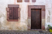 Old Basque house facade — Stock Photo