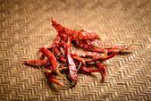 Red dry chilis — Stock Photo