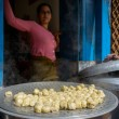 Stock Photo: Nepalese momos