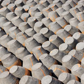 Pottery drying in the sun — Stock Photo