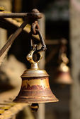 Bell in a buddhist temple in Kathmandu — Stock Photo