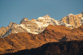 The Annapurna range — Stock Photo