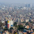 Stock Photo: Kathmandu view from Swayambhunath