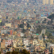 Kathmandu view from Swayambhunath — Stock Photo #39916723