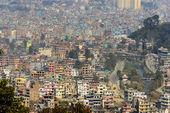 Kathmandu view from Swayambhunath — Stock Photo