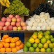 Stock Photo: Fruits on market stand
