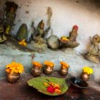 Small hinduist temple — Stock Photo