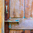 Door detail — Stock Photo #40664095