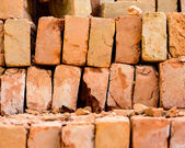 Stack of bricks — Photo