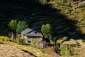 Nepalese landscape — Stock Photo