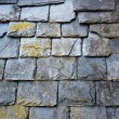 Stock Photo: Slate roof detail