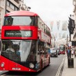 Stock Photo: New Routemaster bus in London