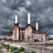Stock Photo: Battersepower station