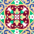 Stock Photo: Ceramic tile closeup