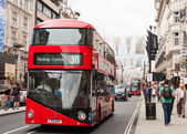 The New Routemaster bus in London — Stock Photo