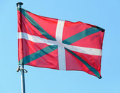 Basque country flag — Stock Photo