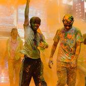 The Colour Run 2014 in Kathmandu — Stock Photo