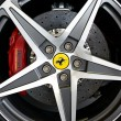 Постер, плакат: Ferrari California wheel
