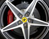 Ferrari California wheel — Stock Photo