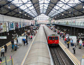 Earls Court tube station in London — Stock Photo