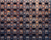 Old wooden door detail — Stock Photo