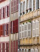 Building facade in Bayonne, France — Stock Photo