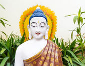 White Buddha statue — Stock Photo