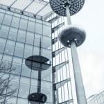Modern street lamp in London — Stock Photo #46941231