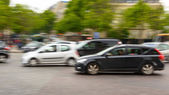 Traffic in Paris — Stock Photo