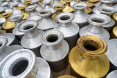 Metal containers in Kathmandu, Nepal — Stock Photo