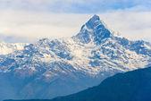 The Machhapuchhre in the Annapurna region — Stock Photo