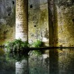 San Gimignano medieval fountain — Stock Photo #6777418