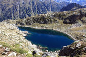 Lake Lassiedouat in Pyrénées — Stock Photo