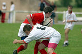 Rugby playing — Stock Photo