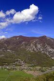Landscape and blue sky — Foto de Stock