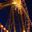 Stock Photo: Attraction - Ferris wheel at night