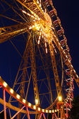 Attraction - a Ferris wheel at night — Stock Photo