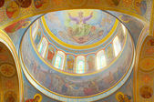 Inre av den ortodoxa katedralen i odessa, ukraina — Stockfoto