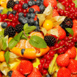 Assorted fresh fruit and berries — Stock Photo #15855429