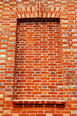Old red brick wall texture — Stockfoto