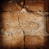 Texture cement wall. Old stone walls of city buildings — Stock Photo