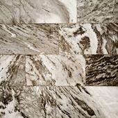 Clair marbre bloc pierre abstrait — Photo