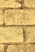 Retro wall of white brick — Foto Stock