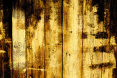 老木栅栏板的暗淡背景 — 图库照片