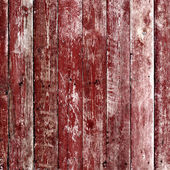 Old wooden planks painted with paint — Stock Photo