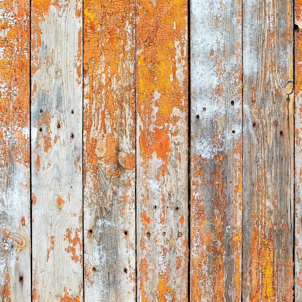抽象风格化的背景的旧木板裂纹的纠缠鲁思蒂 - 图库图片