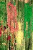 Burnt old wooden fence — Stock Photo